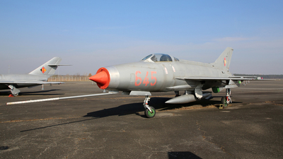 645 - Mikoyan-Gurevich MiG-21F-13 Fishbed C - German Democratic Republic - Air Force