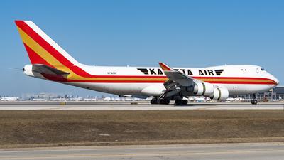 A picture of N716CK - Boeing 7474B5F - Kalitta Air - © Haocheng Fang