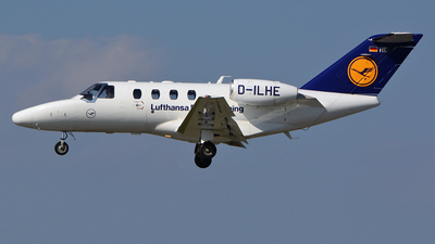 D-ILHE - Cessna 525 CitationJet 1 - Lufthansa Flight Training