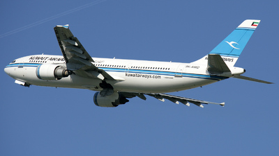 9K-AMD - Airbus A300B4-605R - Kuwait Airways