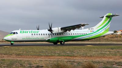 EC-KYI - ATR 72-212A(500) - Binter Canarias (Naysa)