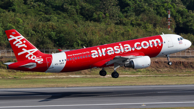 A picture of HSABA - Airbus A320216 - AirAsia - © Azimi Iahra