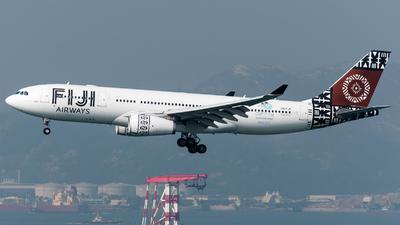 DQ-FJV - Airbus A330-243 - Fiji Airways