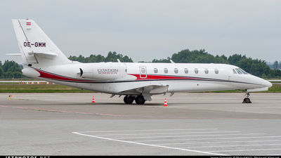 OE-GMM - Cessna 680 Citation Sovereign - JetAlliance
