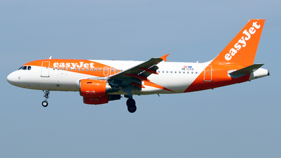 A picture of OELKD - Airbus A319111 - easyJet - © Javier Rodriguez - Amics de Son Sant Joan
