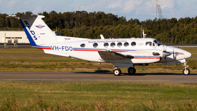 VH-FDO - Beechcraft B200 Super King Air - Royal Flying Doctor Service of Australia (Queensland Section)