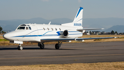 N990PA - Rockwell Sabreliner 65 - Private