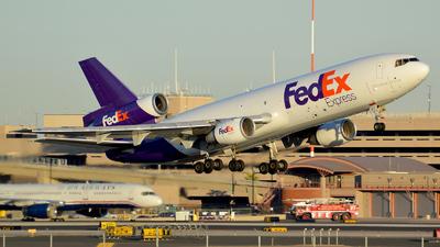 N371FE - McDonnell Douglas MD-10-10(F) - FedEx