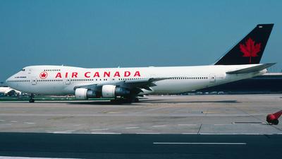 C-FTOD - Boeing 747-133 - Air Canada