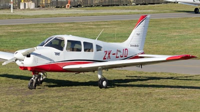 ZK-LJD - Piper PA-28-161 Warrior III - Aero Club - Canterbury