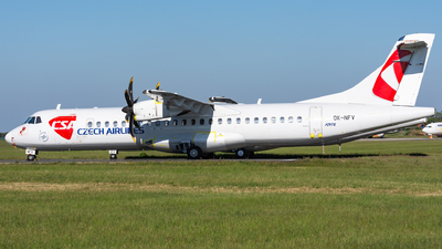 A picture of OKNFV - ATR 72500 - Czech Airlines - © Cibulka Tomas