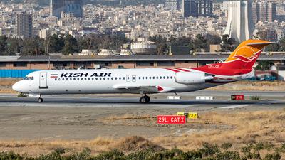 EP-LCR - Fokker 100 - Kish Air