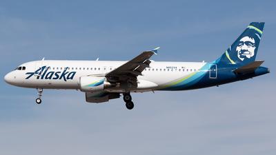 A picture of N852VA - Airbus A320214 - Alaska Airlines - © Felipe García