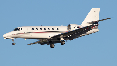 N388QS - Cessna 680 Citation Sovereign - NetJets Aviation