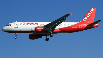 D-ABDR - Airbus A320-214 - Air Berlin