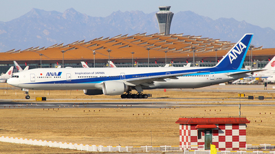 A picture of JA791A - Boeing 777381(ER) - All Nippon Airways - © Jerry Huan