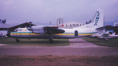 TG-MNF - Antonov An-24B - Lineas Aereas Mayas