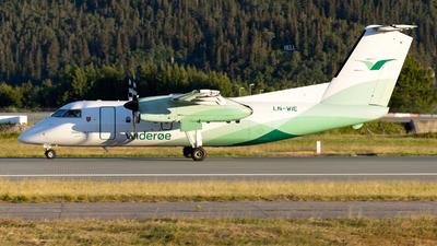 A picture of LNWIE - De Havilland Canada Dash 8100 - Wideroe - © Kim Vanvik
