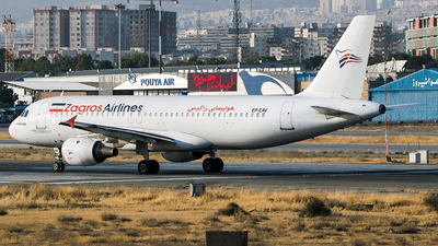 A picture of EPZAV - Airbus A320211 - Zagros Airlines - © Mahyar Malakooti