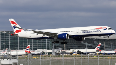 A picture of GXWBE - Airbus A3501041 - British Airways - © subing27