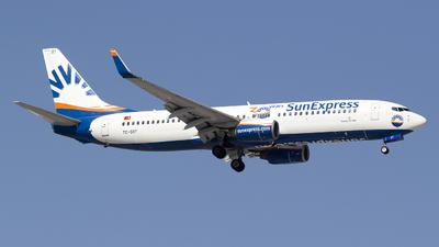 TC-SOT - Boeing 737-8Z9 - SunExpress