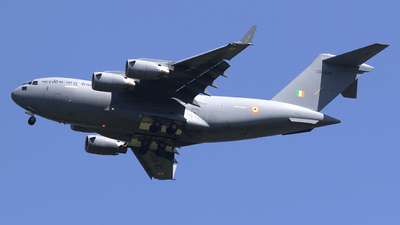 CB-8010 - Boeing C-17A Globemaster III - India - Air Force