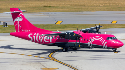 N407SV - ATR 42-600 - Silver Airways