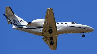 A picture of N94AL - Cessna 525 CitationJet CJ1 - [5250432] - © Tomás Cubero Maingot - SJO Spotter