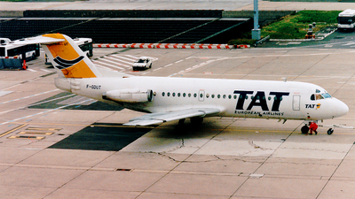 F-GDUT - Fokker F28-2000 Fellowship - TAT European Airlines
