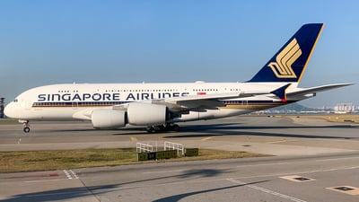 9V-SKZ - Airbus A380-841 - Singapore Airlines
