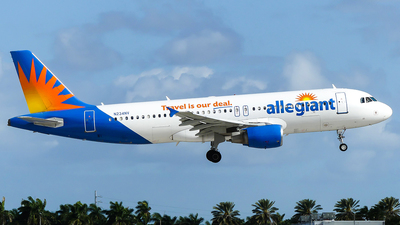 A picture of N234NV - Airbus A320214 - Allegiant Air - © ZackCohen