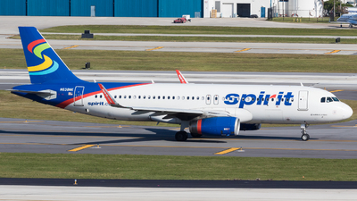 A picture of N638NK - Airbus A320232 - Spirit Airlines - © Martin Rogosz