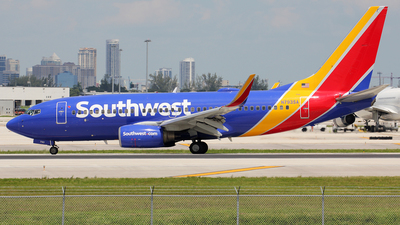 N793SA - Boeing 737-7H4 - Southwest Airlines