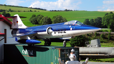 D-8212 - Lockheed F-104G Starfighter - Germany - Air Force