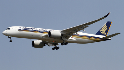 A picture of 9VSHO - Airbus A350941 - Singapore Airlines - © wangpaul
