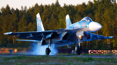 RF-33705 - Sukhoi Su-33 Flanker - Russia - Navy