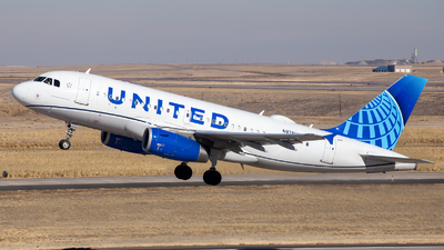 A picture of N876UA - Airbus A319132 - United Airlines - © HA-KLS