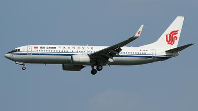 B-7596 - Boeing 737-89L - Air China