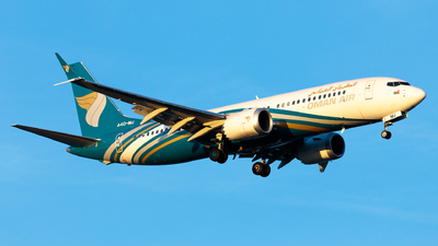 A4O-MJ - Boeing 737-8 MAX - Oman Air