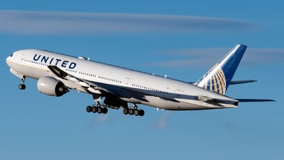 A picture of N793UA - Boeing 777222(ER) - United Airlines - © Michael Place
