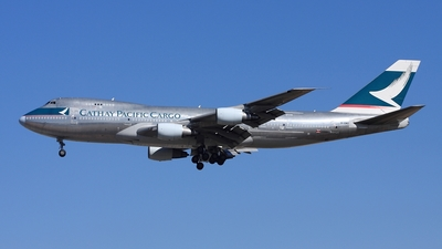 B-HMD - Boeing 747-2L5B(SF) - Cathay Pacific Cargo