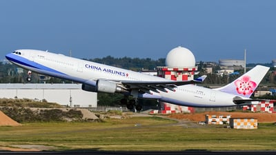 B-18356 - Airbus A330-302 - China Airlines