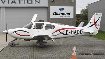 F-HADD - Cirrus SR20 - Private