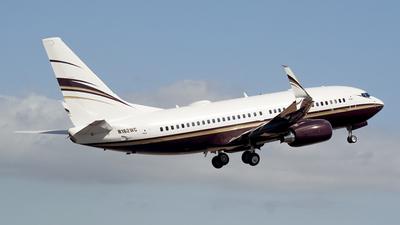 N162WC - Boeing 737-7BC(BBJ) - Private