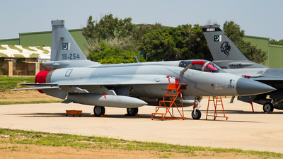 18-254 - Chengdu JF-17 Thunder - Pakistan - Air Force