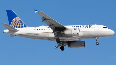 A picture of N852UA - Airbus A319131 - United Airlines - © Alec Mollenhauer