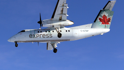 C-GTBP - Bombardier Dash 8-102 - Air Canada Express (Jazz Aviation)