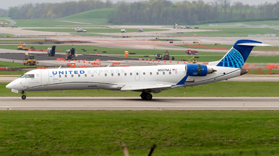 N507MJ - Bombardier CRJ-550 - United Express (GoJet Airlines)
