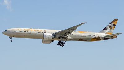 A6-ETE - Boeing 777-3FXER - Etihad Airways