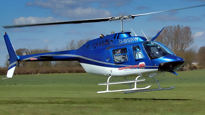 G-BSBW - Bell 206B JetRanger III - Private